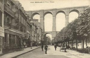 CPA MORLAIX - Place Thiers (143171)