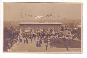 Main Entrance AYPE, Alaska Yukon Pacific Exposition, Seattle Washington Real ...
