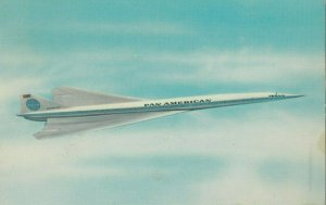PAN AMERICAN U.S. Supersonic Transport SST Airplane , 1960-70s