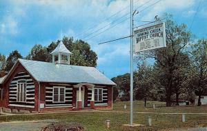 Elizabethton Tennessee Sinking Creek Baptist Church Vintage Postcard K39214