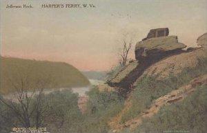 West Virginia Harpers Ferry Jefferson Rock Albertype