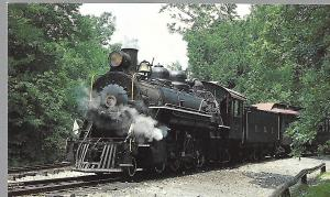 EAST BROAD TOP RAILROAD LOCOMOTIVE #17 AUGHWICH VALLEY, PENNSYLVANIA