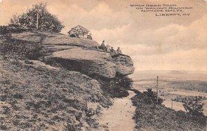 Witch Head Rock Liberty Walnut Mountain New York