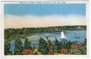 Falmouth, Cape Cod, Mass, Beautiful Quisset Harbor