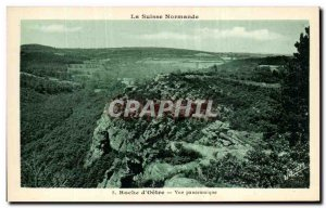 Old Postcard Roche d & # 39Oetre Panoramic Suisse Normande