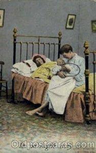 Baby Bottle Postcard Post Card 1909