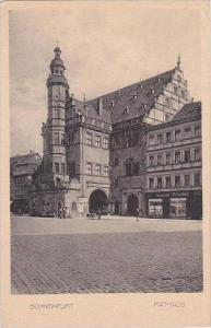 Germany Schweinfurt Rathaus