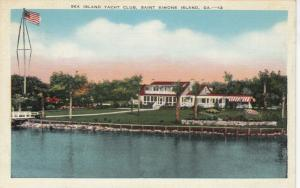 ST. SIMONS ISLAND , Georgia , 1942 ; Sea Island Yacht Club
