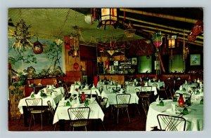 Chicago IL, Tai Dong Restaurant, Chrome Illinois Postcard