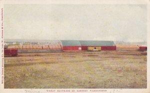 WASHINGTON, 1901-1907; Wheat Blockade In Eastern Washington
