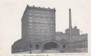 PITTSBURGH, Pennsylvania, 1930-1950s; Union Depot