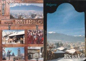 Bansko Bulgaria Fashion 2x Postcard s