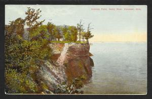 Andrews Point Trees Cliff & Water Rocky River OH Used c1910