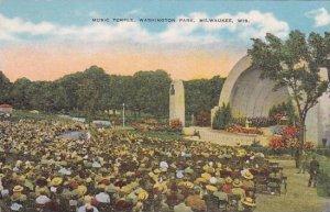 Wisconsin Milwaukee Music Temple Washington Park