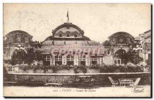 Vichy - Facade du Casino - Old Postcard