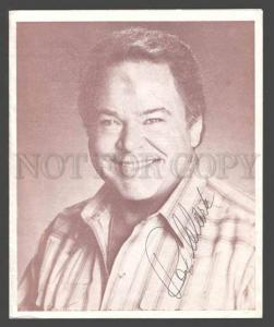 091266 AUTOGRAPH ROY CLARK & etc USA Country Music Star Old