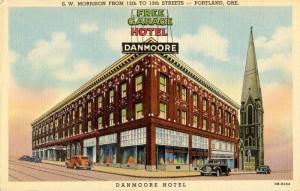 OR - Portland. Danmoore Hotel