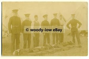 su1496 - Military Army Camp - Windmill Hill Camp - Wiltshire - postcard