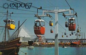 Sky Ride On La Ronde, Dolphin Lake, EXPO67, MONTREAL, Quebec, Canada, 40-60´