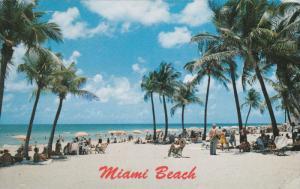 MIAMI BEACH, Florida, PU-1986; Beach Scene
