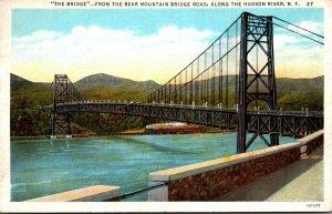 New York Bear Mountain Hudson River Bridge 1926