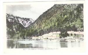 RP, West End & Waterfront, Ocean Falls, British Columbia, Canada, 1920-1940s
