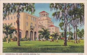 Florida Sebring Harder Hall On Lake Jackson