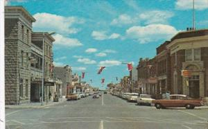 Canada Alberta Fort Macleod Main Street Looking East
