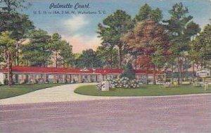 South Carolina Walterboro Palmetto Court