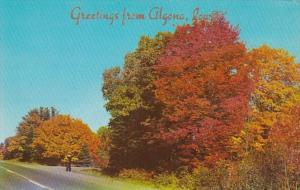 Iowa Greetings From Algona