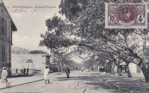 Senegal Dakar Boulevard National 1907