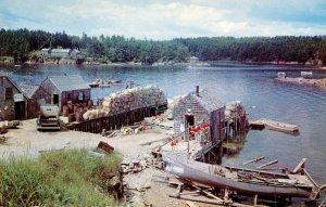 ME - Fishing Village Scene