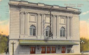 Minneapolis MN~Shubert Theatre~Hennepin Avenue~Lightbulb Sign~Posters~1913 PC