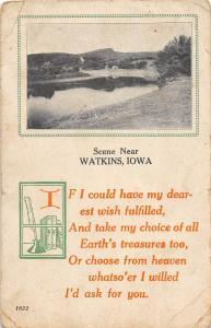 B44/ Watkins Iowa Ia Postcard 1914 Scene Near Watkins Earth's Treasures