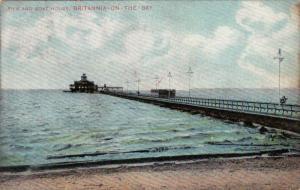 Pier & Boat House, Britannia-On-The-Bay, Ontario, Canada, PU-1908
