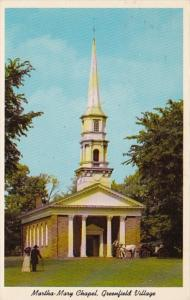 Michigan Dearborn Martha Mary Chapel Deerfield Village 1967