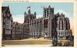 College of the City, New York City, New York