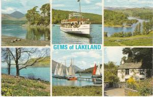 Post Card Cumbria / Westmorland Lake District Gems of Lakeland