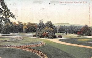 Canada N.S. Halifax Public Gardens, Jardin 1906
