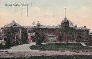 CHESTER, Pennsylvania, PU-1921; Chester Hospital