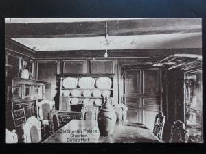 Cheshire: Chester, Old Stanley Palace Dining Hall - Old Postcard