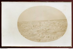 dc1211 - LIBYA Tripoli 1910s Italy Colonies. Panoramic View. Real Photo Postcard