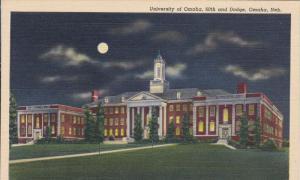 OMAHA, Nebraska, 1930-1940's; University Of Omaha, 60th And Dodge