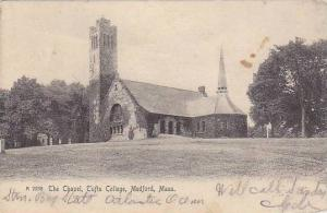 The Chapel, Tufts College, Medford, Massachusetts,PU-1905