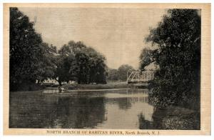 16926  NJ North Branch   Raritan River, Train Bridge