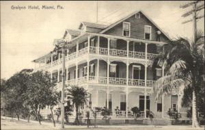 Miami FL Gralynn Hotel c1910 Postcard