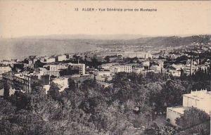 Vue Generale Prise De Mustapha, Alger, Algeria, Africa, 1900-1910s