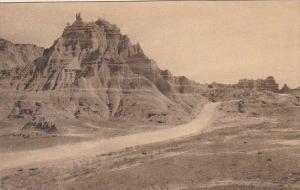 Pinnacles Peaks The Badlands Nat Monument South Dakota Albertype