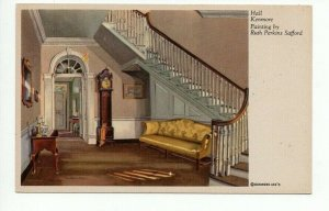 Postcard Hall Kenmore Painting by Ruth Perkins Safford PC4-17