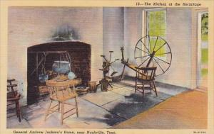 The Kitchen At The The Hermitage General Andrew Jacksons Home Nashville Tenne...